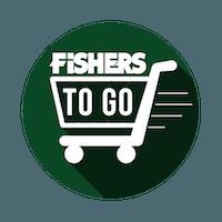 Fishers to go logo